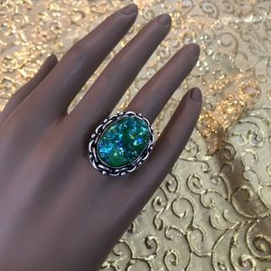 Jewelry - NEW Druzy Gemstone Ring Sz 7.25